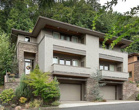 Multi Family House : Hillside Multi-family Home Plan-am