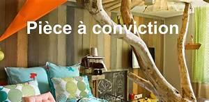 Cabane Chambre Enfant : cabane l arbre entre dans la chambre esprit cabane idees creatives et ecologiques ~ Teatrodelosmanantiales.com Idées de Décoration