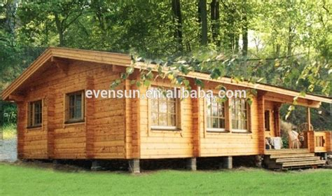 Portable Prefab Wooden House Bungalow-buy Wooden House