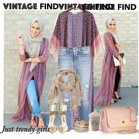 long kimono cardigan hijab style  trendy girls