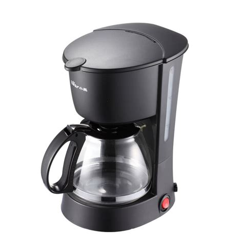 Office coffee machine with grinder is the appliance that grinds coffee first and then brews it. Coffee Machine Large Quantity Discount Genuine Bear Coffee Machine KFJ 403 Drip Home Office ...