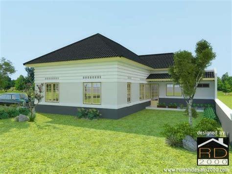 desain rumah belanda modern perspektif  rumah desain
