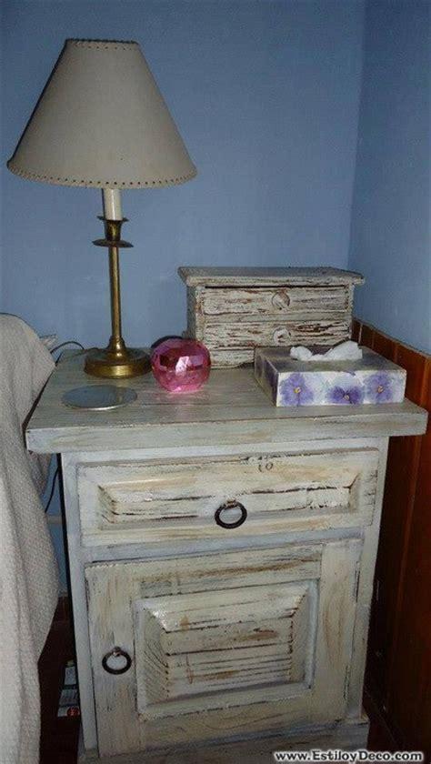 muebles restaurados al mas puro estilo shabby chic