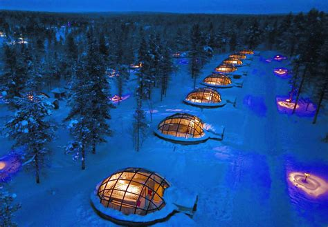 Northern Lights Igloo by Rent An Igloo The Northern Lights For Your Next
