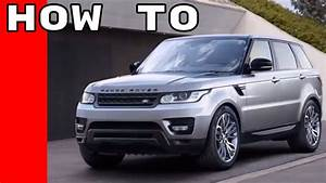 2017 Range Rover And Rr Sport Features  Options  Owners