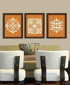 1000 ideas about burnt orange kitchen on pinterest With kitchen cabinets lowes with fabric covered canvas wall art