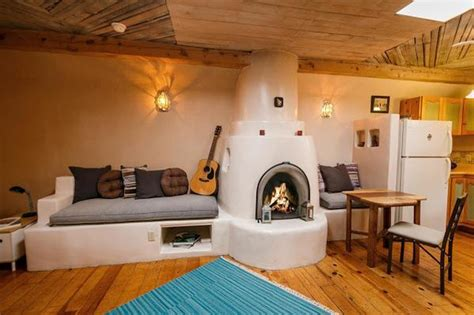Pueblo-style Tiny Home In Santa Fe With A Mind-blowing