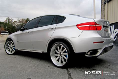 Bmw X6 With 22in Vellano Vtv Wheels Exclusively From