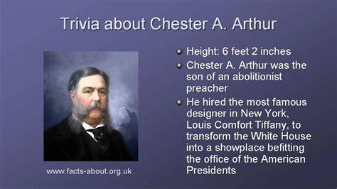President Chester Arthur Biography - YouTube