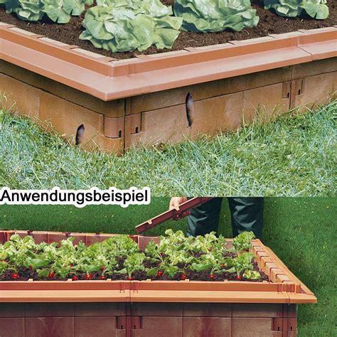 Juwel Hochbeet Zubehör by Juwel Hochbeet Schneckenkanten 10 St 252 Ck Terracotta