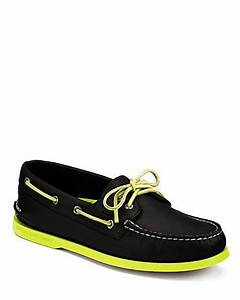 Sperry Top Sider Neon Boat Shoes