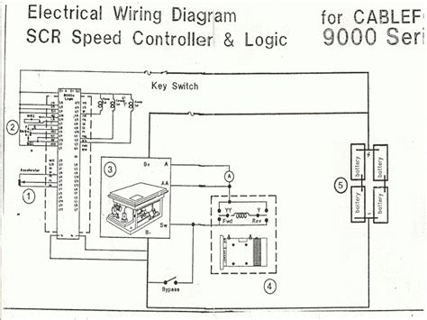 electric forklift wiring diagram wiring forums