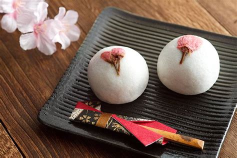 enjoy japanese spring  cherry blossom sweets japan