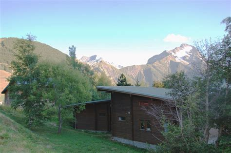 pictures chalet preneleyre interior and view on the glacier de la muzelle and le pic de venosc