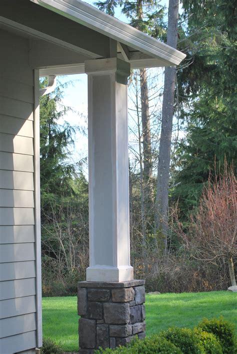 front porch columns  gathering place