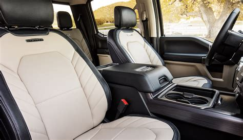 ford  super duty limited interior  fast lane