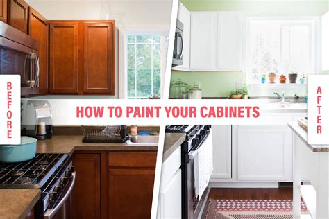 How To Paint Kitchen Cupboards White by How To Paint Your Kitchen Cabinets So It Looks Like You