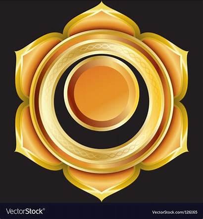 Medallion Chakra Hindu Vector Svadhisthana Royalty