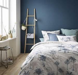 Joli Bleu Dans Une Chambre Camas Pinterest