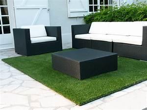 Tapis Exterieur Terrasse : terrasse tapis gazon nos conseils ~ Zukunftsfamilie.com Idées de Décoration