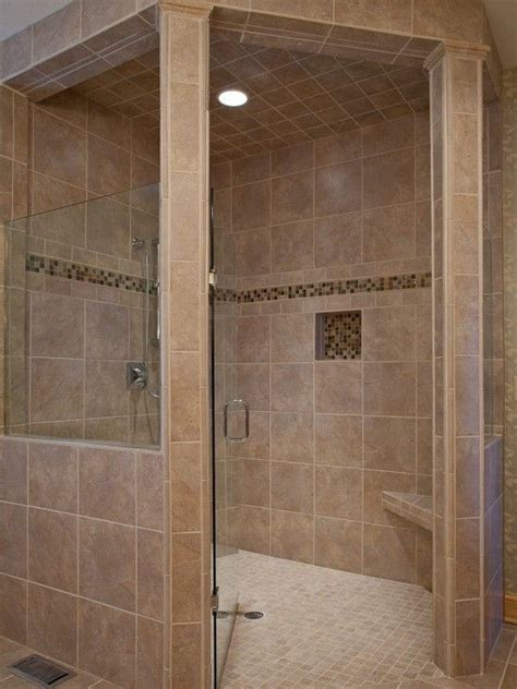 handicap accessible curbless shower design pictures
