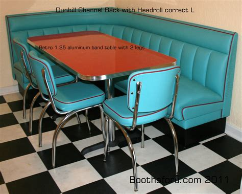 retro diner booths booths and banquettes for residence