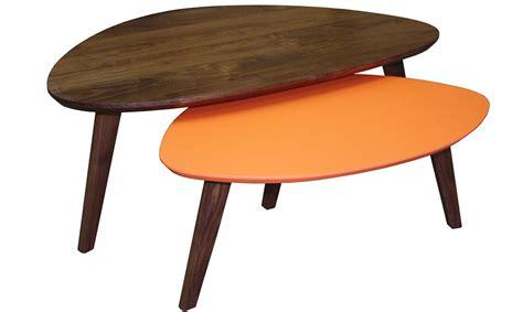 table basse gigogne table basse gigogne vintage en noyer massif fabrication