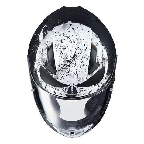 punisher helmet hjc cl motorcycle rezzer marvel custom ii helmets motomalaya hulk