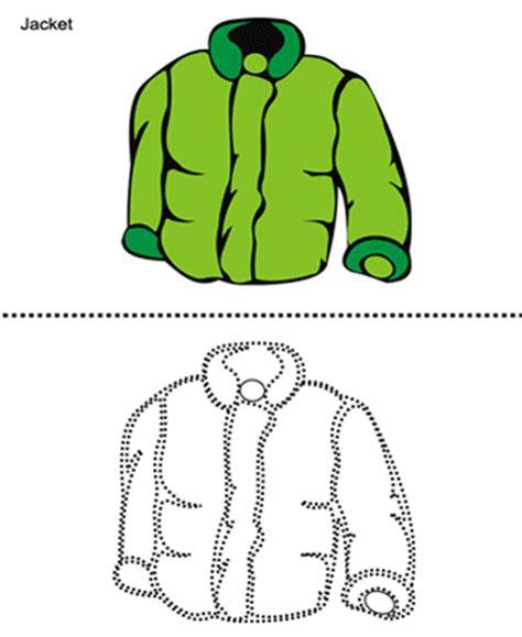 jacket printable coloring worksheet