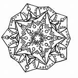 Kaleidoscope Coloring Mandala Pages Printable Last Books Q4 Coloringpages sketch template