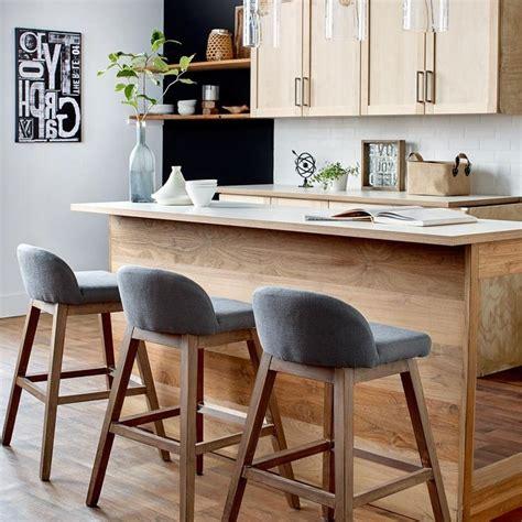 tabouret de bar en bois brut cuisine id 233 es de d 233 coration de maison p7nl5mvlx1