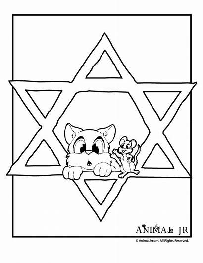 Coloring Hanukkah Pages Guppies Bubble Kwanza Mouse