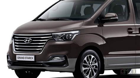 2018 Hyundai Grand Starex Facelift 12seat Minivan Youtube