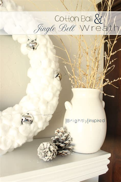cotton ball wreath pictures   images