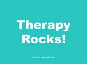 Therapy Rocks! National Psychotherapy Day - Jodie Gale Psychotherapy & Counseling