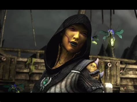 mortal kombat x all d vorah intro dialogue character