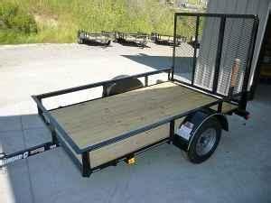 utility trailer wramp san jaun bautista