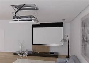 Videoprojecteur Salon : support motoris pour vid oprojecteur alulift ~ Dode.kayakingforconservation.com Idées de Décoration