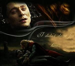 I didn't do it for him. - Loki in Thor The Dark World ...