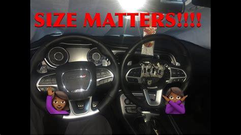 srt steering wheel install   dodge challenger