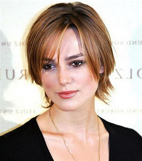 top 10 short haircuts for round faces and fine hair of