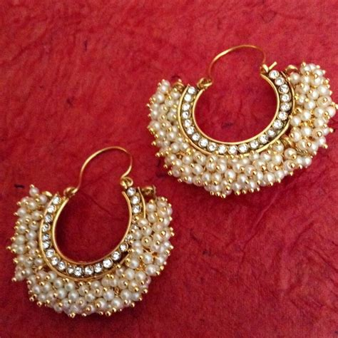 Chandni Stones Golden Finish Ethnic Bali Hoop Indian. Imitation Jewellery Gold Jewellery. Old Diamond Gold Jewellery. Pearl Designs Catalogue Gold Jewellery. Head Crown Gold Jewellery. Coimbatore Gold Jewellery. Guy Gold Jewellery. Gold Chinese Gold Jewellery. Pearl Bracelet Gold Jewellery