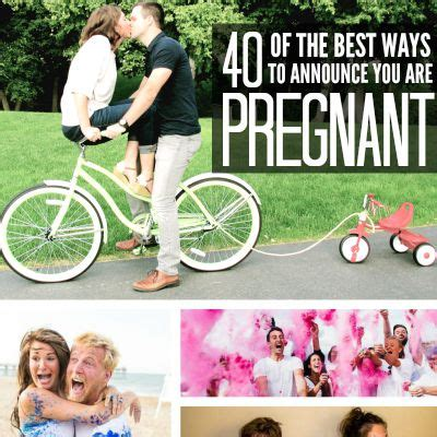 40 Of The Best Ways To Announce You Are Pregnant  Today's The Best Day