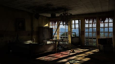 ruined hotel room  jarwal  deviantart