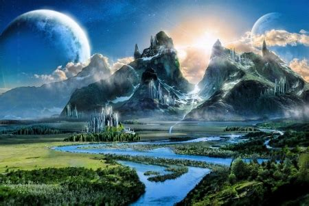 fantasy world fantasy abstract background wallpapers
