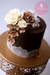 Ganache a Cake With Sharp Edges   Tutorials, Cake and ...