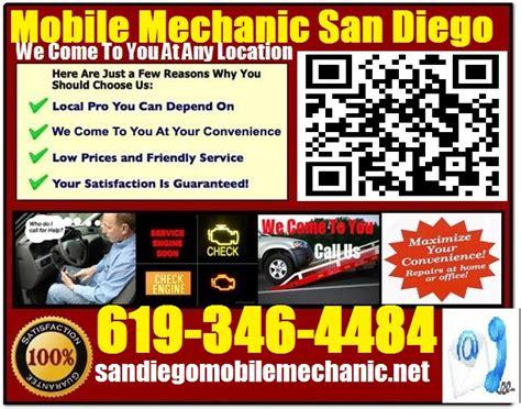 mobile mechanic san marcos ca auto car repair service shop