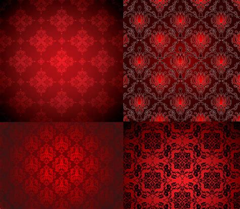 royal red background pattern free vector download 57 605