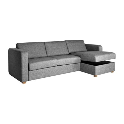 grand canapé d angle en tissu porto ii grand canapé lit d 39 angle droit en tissu avec