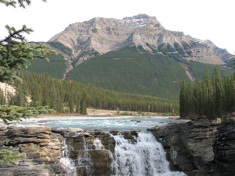 athabasca falls images natural beauty  canada